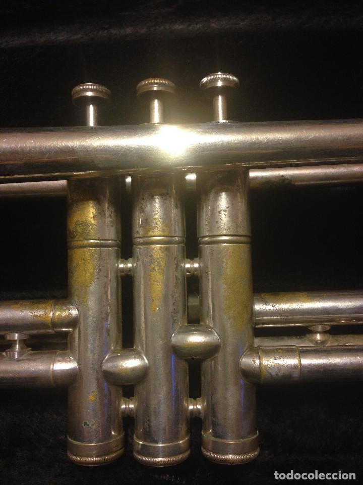 Instrumentos musicales: TROMPETA LARK. M4013-1,CON MALETIN JUPITER. - Foto 8 - 194521487