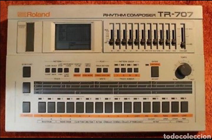 ROLAND TR 707 (Música - Instrumentos Musicales - Percusión)