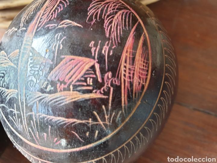 Instrumentos musicales: Maracas Cuba. Antiguas. Originales . - Foto 4 - 194593870