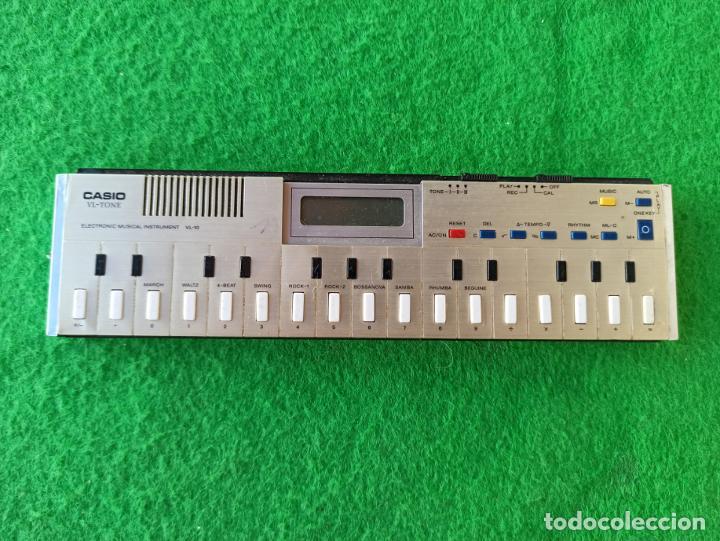 TECLADO CASIO TONE VL 10 ELECTRÓNICO SINTETIZADOR Y CALCULADORA FUNCIONANDO (Música - Instrumentos Musicales - Teclados Eléctricos y Digitales)