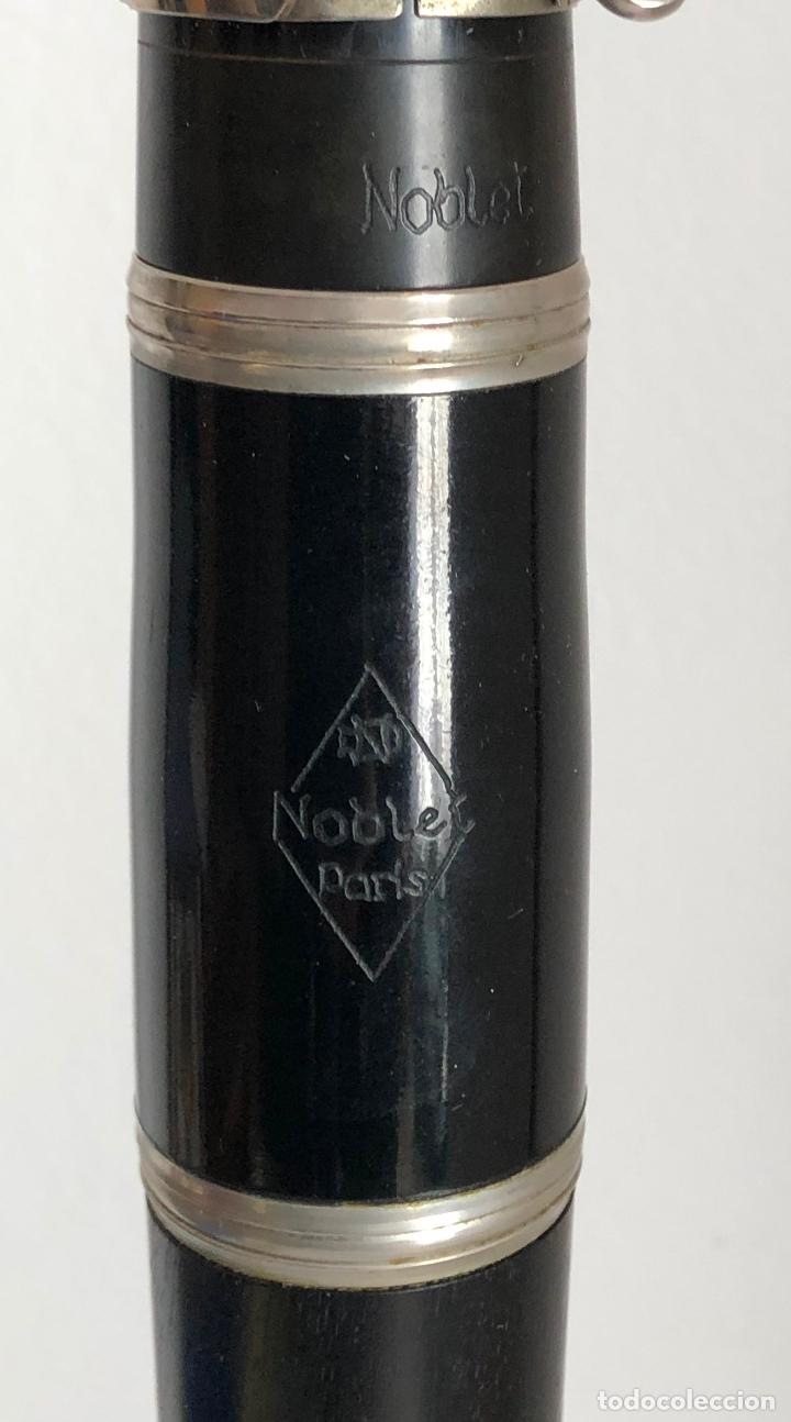 Instrumentos musicales: CLARINETE NOBLET PARIS - Foto 5 - 194878962