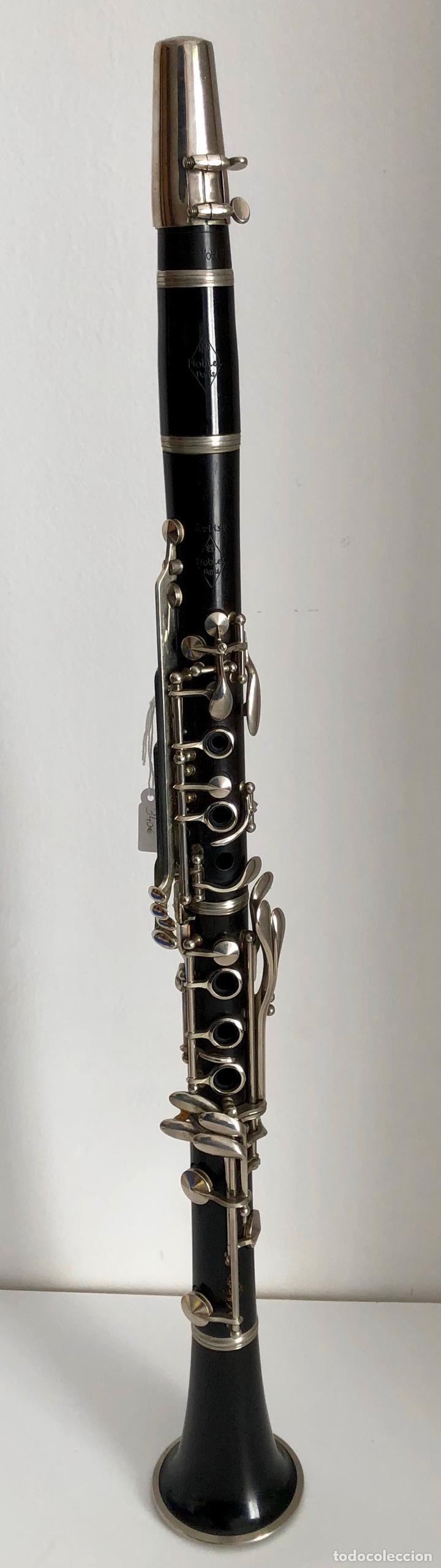 Instrumentos musicales: CLARINETE NOBLET PARIS - Foto 6 - 194878962