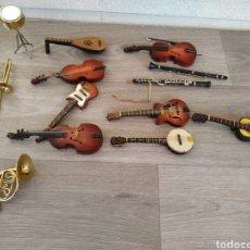 Instrumentos musicales: LOTE DE INSTRUMENTOS EN MINIATURA. Lote 194947077