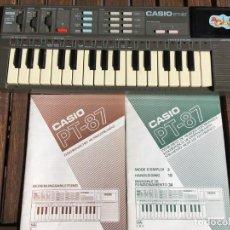 Instrumentos musicales: TECLADO CASIO PT-87. Lote 195006806