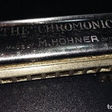 Instrumentos musicales: THE CHROMONICA, CHOMATIC HARMONICA, H0HMER ALEMANIA. Lote 195062468
