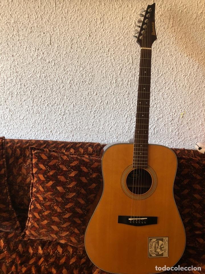 GUITARRA ACÚSTICA IBANEZ LONESTAR SERIES (Música - Instrumentos Musicales - Guitarras Antiguas)