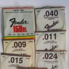 Instrumentos musicales: FENDER CUERDAS 150XL. Lote 195102083