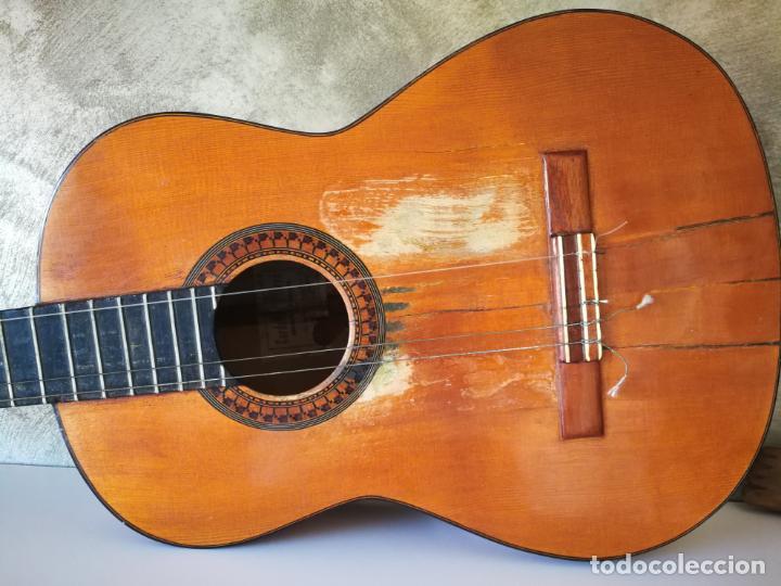 Instrumentos musicales: GUITARRA FLAMENCA DE PALILLOS CARDEÑAS GUERRA 1963 - Foto 3 - 195145760