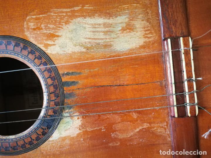 Instrumentos musicales: GUITARRA FLAMENCA DE PALILLOS CARDEÑAS GUERRA 1963 - Foto 4 - 195145760