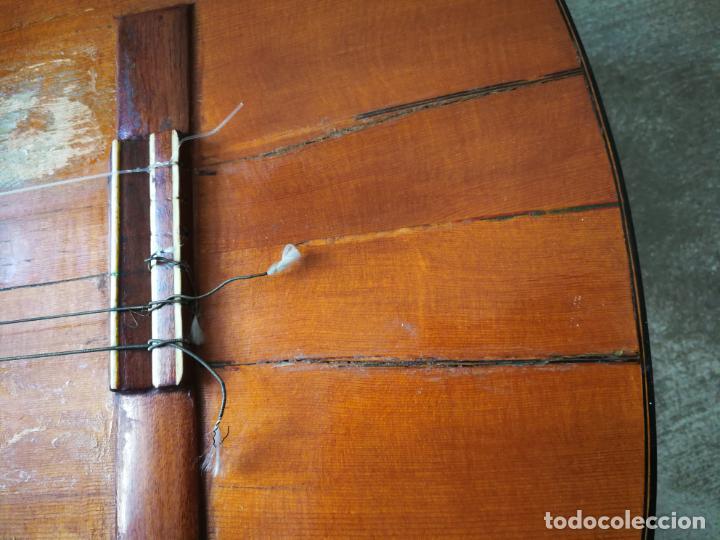 Instrumentos musicales: GUITARRA FLAMENCA DE PALILLOS CARDEÑAS GUERRA 1963 - Foto 5 - 195145760
