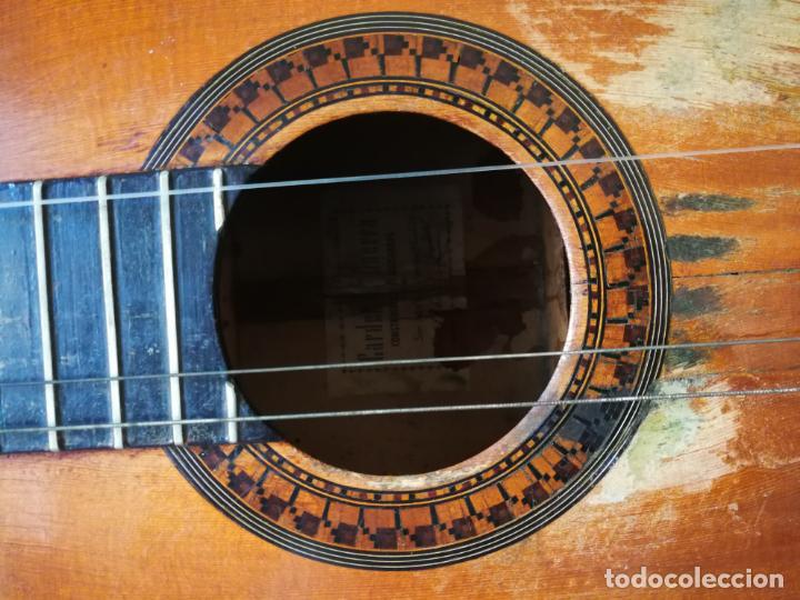 Instrumentos musicales: GUITARRA FLAMENCA DE PALILLOS CARDEÑAS GUERRA 1963 - Foto 6 - 195145760