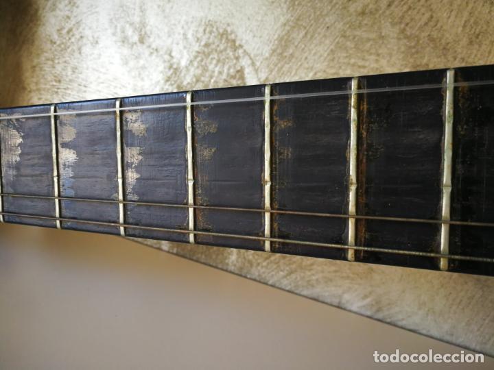 Instrumentos musicales: GUITARRA FLAMENCA DE PALILLOS CARDEÑAS GUERRA 1963 - Foto 8 - 195145760