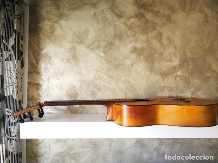 Instrumentos musicales: GUITARRA FLAMENCA DE PALILLOS CARDEÑAS GUERRA 1963 - Foto 10 - 195145760