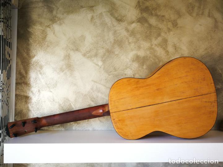 Instrumentos musicales: GUITARRA FLAMENCA DE PALILLOS CARDEÑAS GUERRA 1963 - Foto 12 - 195145760