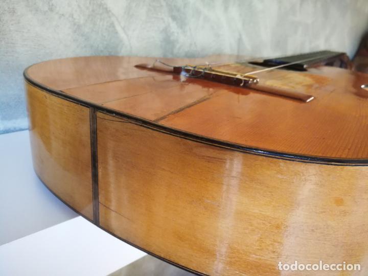 Instrumentos musicales: GUITARRA FLAMENCA DE PALILLOS CARDEÑAS GUERRA 1963 - Foto 16 - 195145760