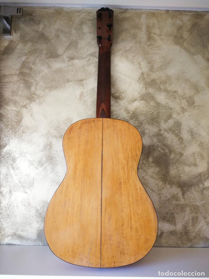 Instrumentos musicales: GUITARRA FLAMENCA DE PALILLOS CARDEÑAS GUERRA 1963 - Foto 19 - 195145760