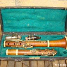Instrumentos musicales: CLARINETE FRANCÉS ANTIGUO. MARTIN FRES. A PARIS, SOBRE 1850. Lote 195177940