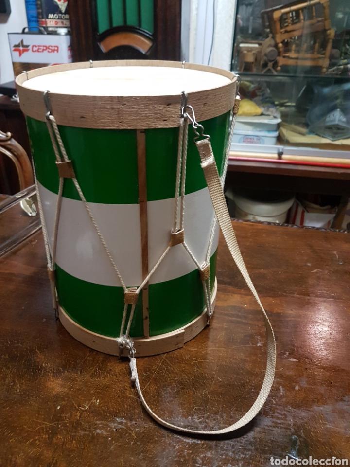Instrumentos musicales: Tambor Virgen del Rocío 35cm de alto x 27cm de diámetro - Foto 3 - 195183927