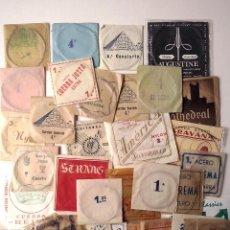 Instrumentos musicales: GUITARRA.33 CUERDAS ANTIGUAS NYLON,SEDA,TRIPA ETC.. Lote 195306600