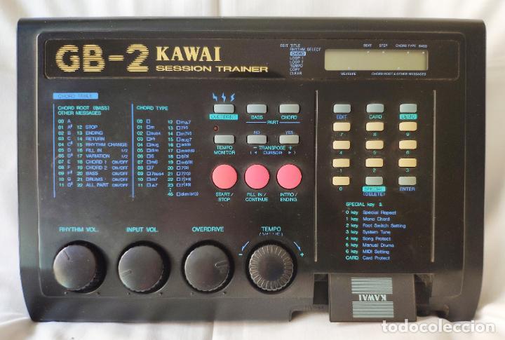 Instrumentos musicales: Kawai GB-2 entrenador de sesión con cable de alimentación + RAM KAWAI DC-16 - FUNCIONANDO - Foto 3 - 195312475
