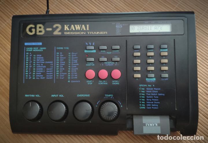 Instrumentos musicales: Kawai GB-2 entrenador de sesión con cable de alimentación + RAM KAWAI DC-16 - FUNCIONANDO - Foto 4 - 195312475