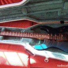 Instrumentos musicales: GUITARRA JACKSON PS2 FLOYD ROSE COMO NUEVA VERDE AZUL RECIEN QUINTADA. Lote 195329341