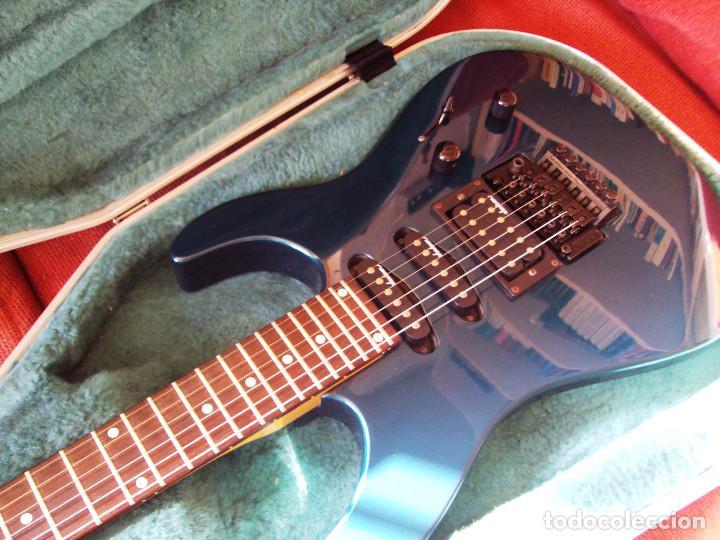 Instrumentos musicales: Guitarra Jackson PS2 Floyd Rose como nueva verde azul recien quintada - Foto 2 - 195329341