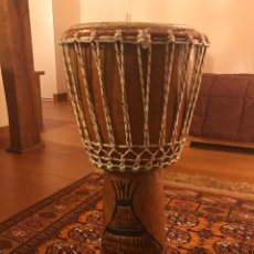 Instrumentos musicales: YEMBÉ AFRICANO. Lote 195342748