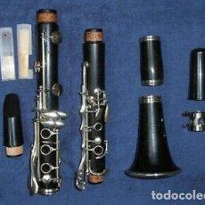 Instrumentos musicales: CLARINETE BB BUFFET CRAMPON R13 PRE PARIS FRANCIA. Lote 195502806