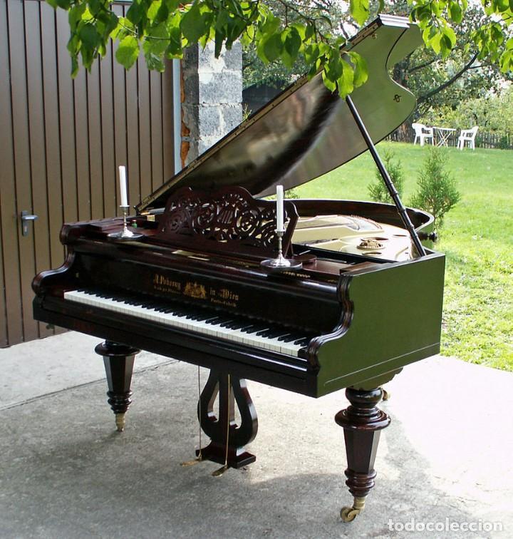 PIANO A.POKORNY, WIEN, AUSTRIA, AÑO 1905. NUMERADO: 3147 (Música - Instrumentos Musicales - Pianos Antiguos)