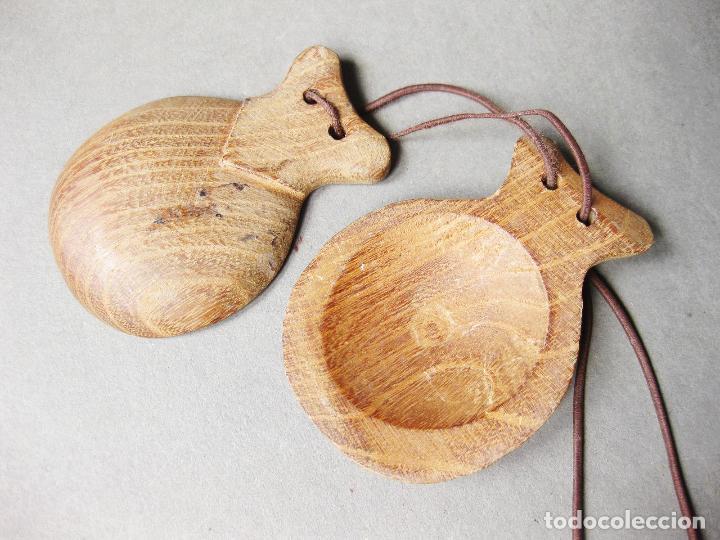 Instrumentos musicales: CASTAÑUELA SUELTA DE MADERA - Foto 3 - 195848048