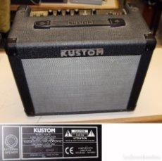 Instrumentos musicales: AMPLIFICADOR DE GUITARRA 16W KUSTOM KGA16 CON CABLES. Lote 195947707