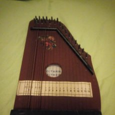Instrumentos musicales: ANTIGUA CITARA GUITARR ZITHER 21 CUERDAS. Lote 195982262