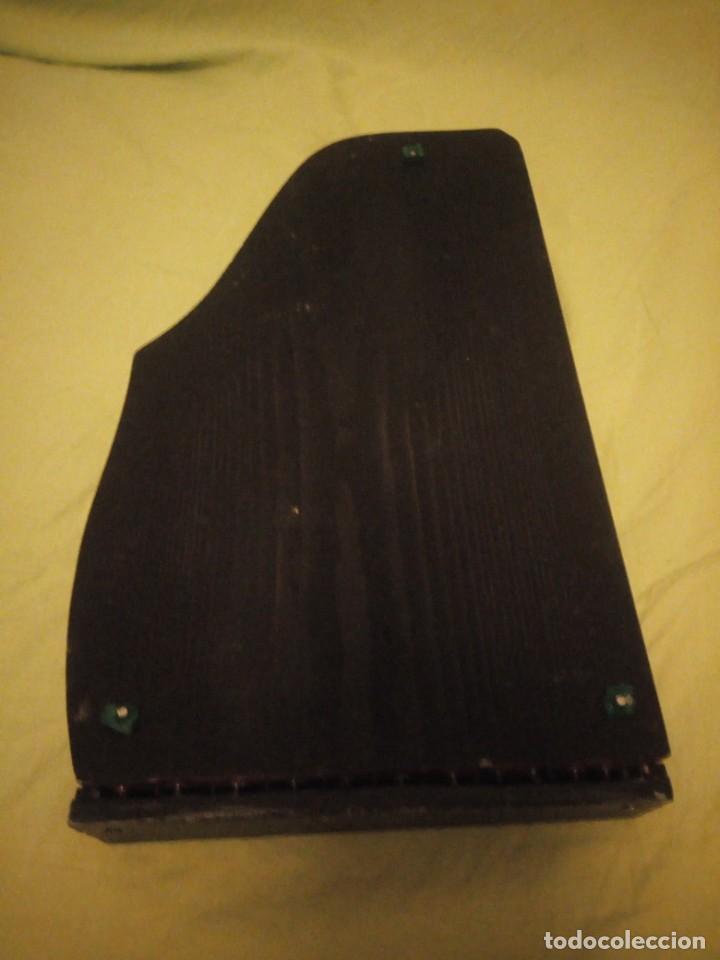Instrumentos musicales: Antigua citara guitarr zither 21 cuerdas - Foto 8 - 195982262