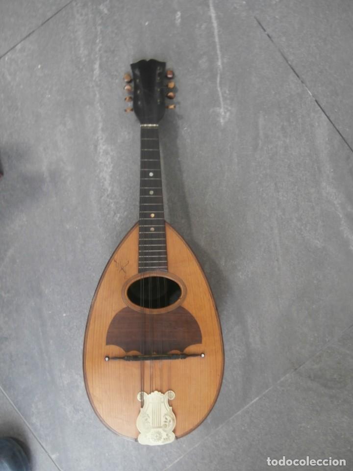 MANDOLINA FRANCESA ANTIGUA PHEBE (Música - Instrumentos Musicales - Cuerda Antiguos)