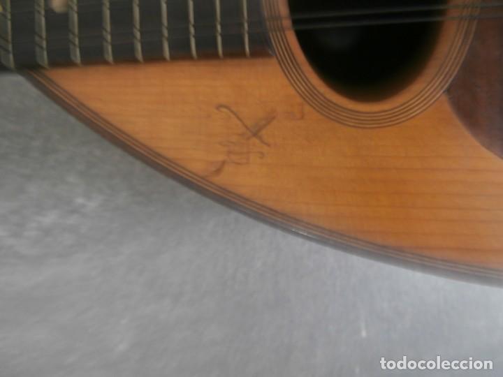 Instrumentos musicales: mandolina francesa antigua phebe - Foto 2 - 196075851