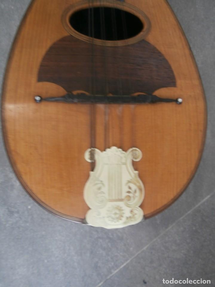 Instrumentos musicales: mandolina francesa antigua phebe - Foto 3 - 196075851