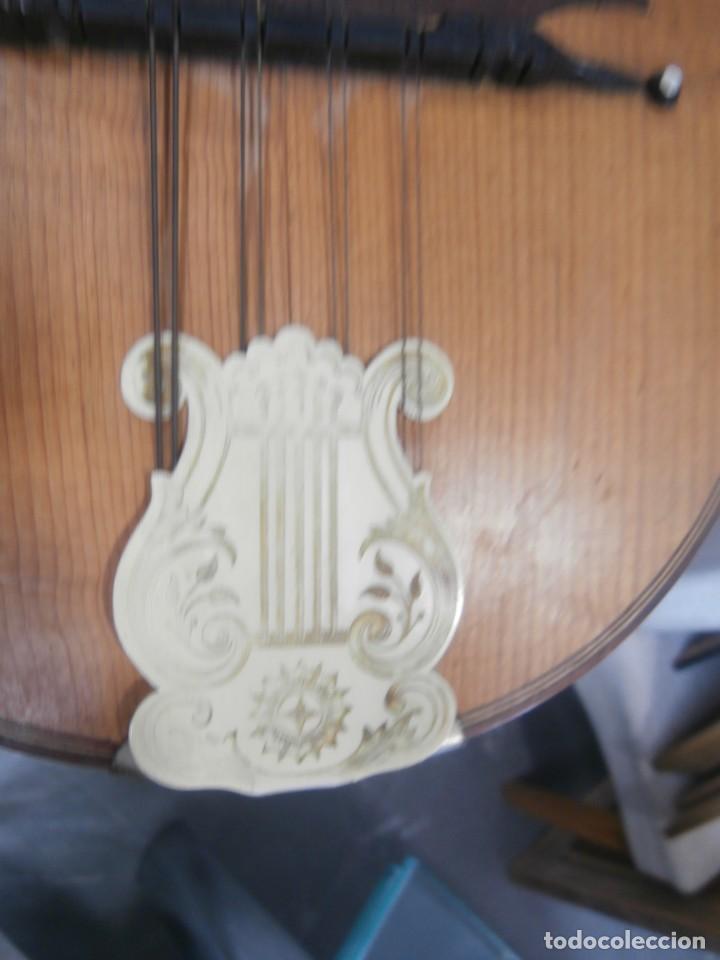Instrumentos musicales: mandolina francesa antigua phebe - Foto 6 - 196075851