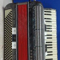 Instrumentos musicales: IMPRESIONANTE Y PRECIOSOS ACORDEON HOHNER CARMEN III 120 BAJOS. Lote 196197298