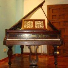 Instrumentos Musicais: PIANO DE COLA FRANCÉS DE SOBRE 1850. BOISSELOT ET FILS, FACTEURS DU ROI, MARSELLA.. Lote 196212607