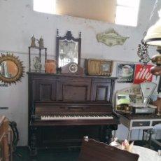 Instrumentos musicales: PIANOFORTE CATEURA Y CÍA. CAOBA DE CUBA. TECLADO ÉBANO Y MARFIL. BARCELONA, S. XIX.. Lote 196265717
