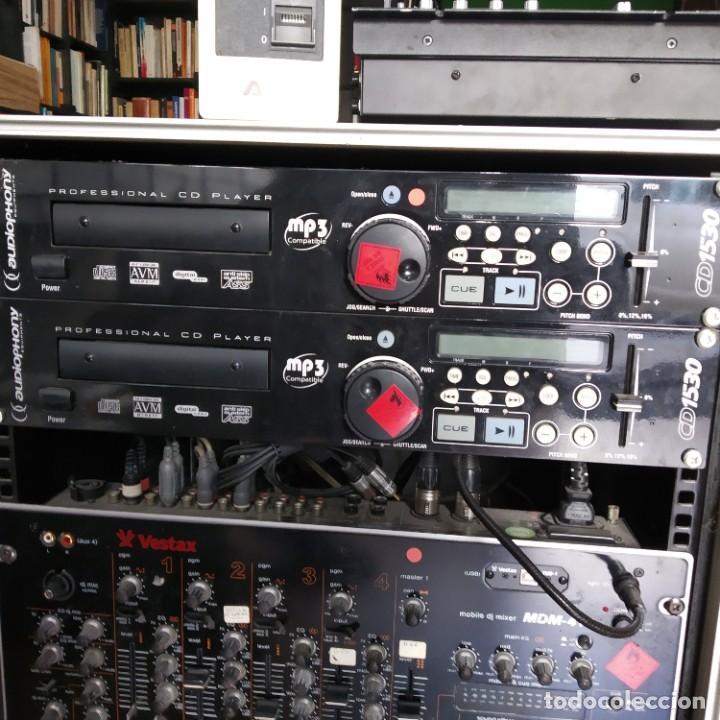 AUDIOPHONY CD PLAYER CD1530 PROFESIONAL MUY BUEN ESTADO (2 DISPONIBLES) (Música - Instrumentos Musicales - Accesorios)