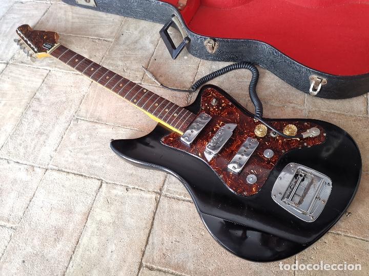 VINTAGE 1960´S EGMOND TEMPEST 3EL3----------------------- GUITARRA ELECTRICA (Música - Instrumentos Musicales - Guitarras Antiguas)