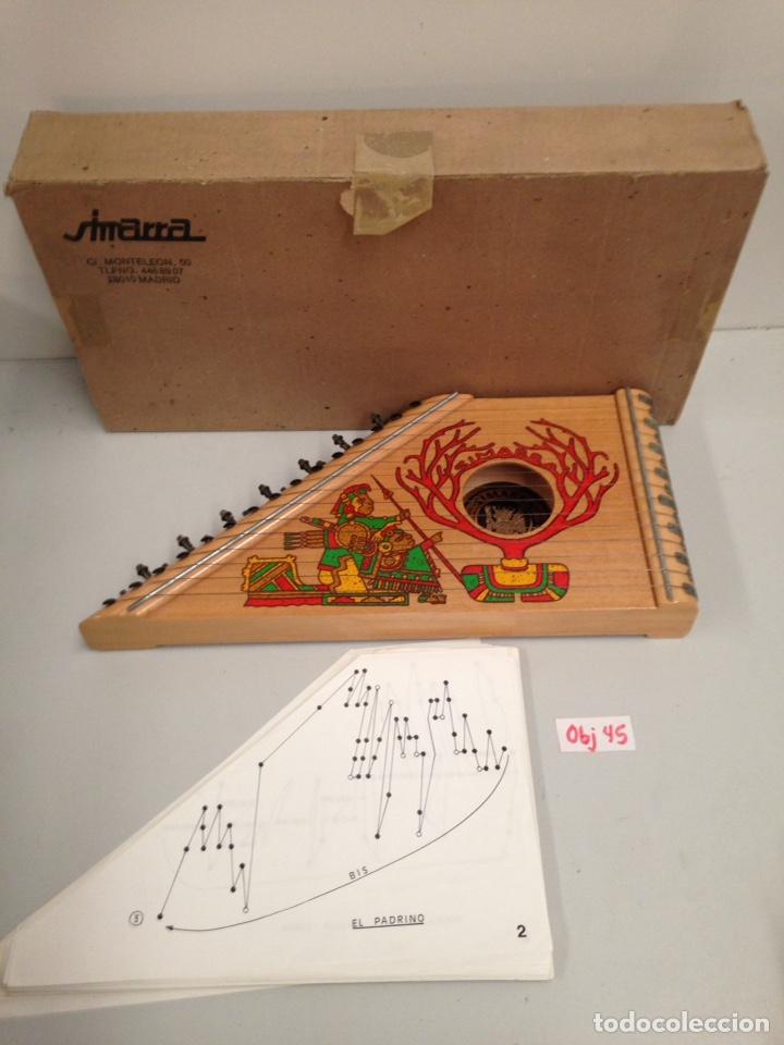 ANTIGUA INSTRUMENTO SIMARRA (Música - Instrumentos Musicales - Cuerda Antiguos)