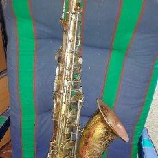Strumenti musicali: GRANDE Y ANTIGUO SAXOPHONE HSAMA. Lote 197100360