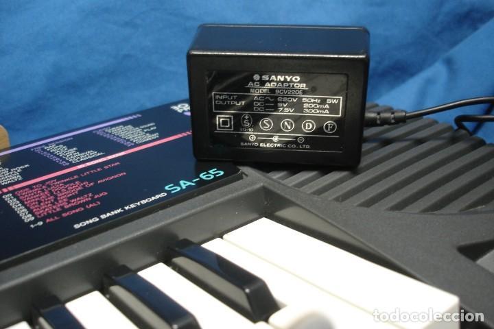 Instrumentos musicales: ORGANO CASIO SA-65 CON MANUALES, TRANSFORMADOR Y CAJA ORIGINAL - FUNCIONA - Foto 10 - 197301936