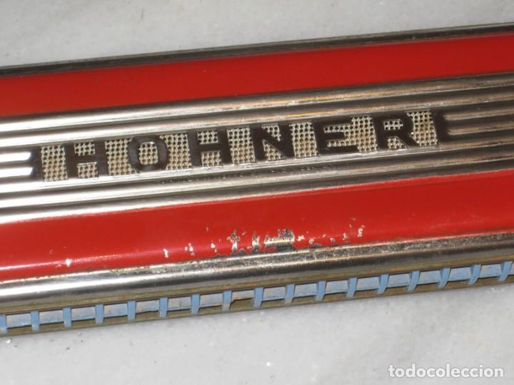 Instrumentos musicales: Antigua Armonica Hohner Echo Elite - Foto 5 - 197343763