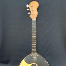 Instrumentos musicales: DOMRA DE TRES CUERDAS. MANDOLINA. RUSIA. ETIQUETA INTERIOR. SIGLO XX.. Lote 197361562