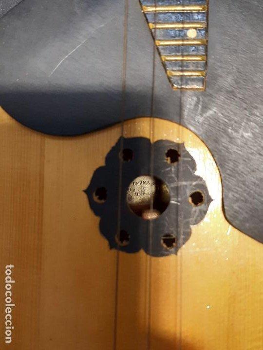 Instrumentos musicales: Domra de tres cuerdas. Mandolina. Rusia. Etiqueta interior. Siglo XX. - Foto 4 - 197361562