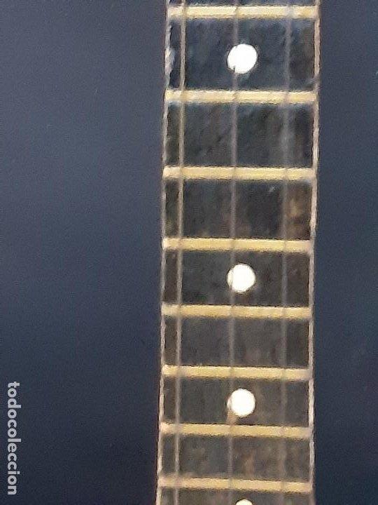 Instrumentos musicales: Domra de tres cuerdas. Mandolina. Rusia. Etiqueta interior. Siglo XX. - Foto 11 - 197361562